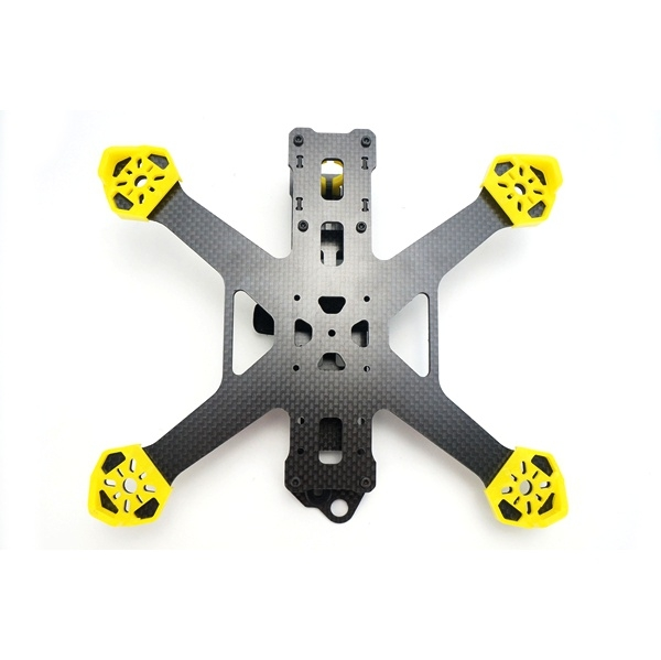 STAR POWER SP215X SP-215X 215MM 3K Pure Carbon Fiber Frame Kit for FPV Racing