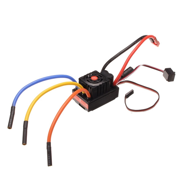 FVT 120A Waterproof Sensored Brushless ESC For 1/8 1/10 RC Car