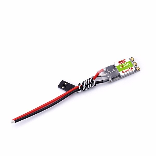 DYS XS 30A 3-6s Lipo BLheli_S ESC Support Oneshot125 Oneshot42 Multishot for High KV Motor