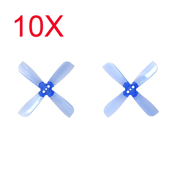10 Pairs Gemfan 2035 2X3.5X4 4 Blade 1.5mm Mounting Hole CW CCW FPV Racing Propeller Blue
