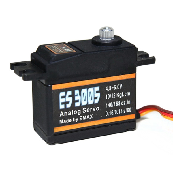4X EMAX ES3005 42g Metal Analog Servo for RC Airplane Waterproof
