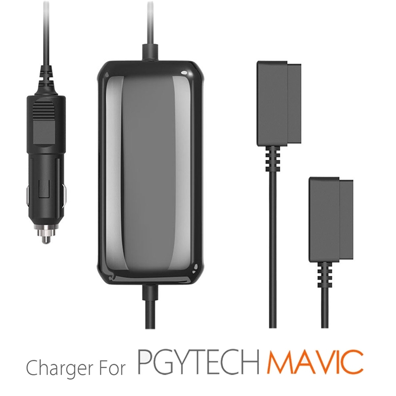 PGYTECH Multi-function Intelligent Battery Car Travel Charger Adapter For DJI Mavic Pro PGY Drone