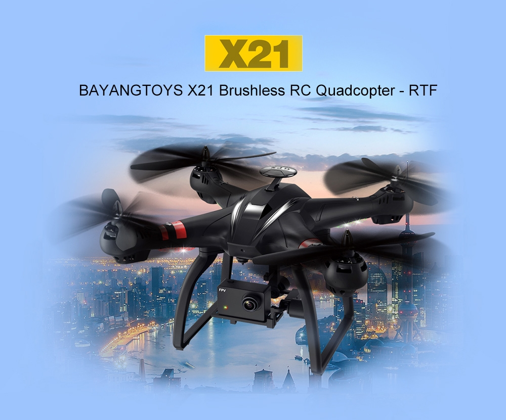 BAYANGTOYS X21 Brushless Double GPS WIFI FPV With 1080P Gimbal Camera RC Quadcopter