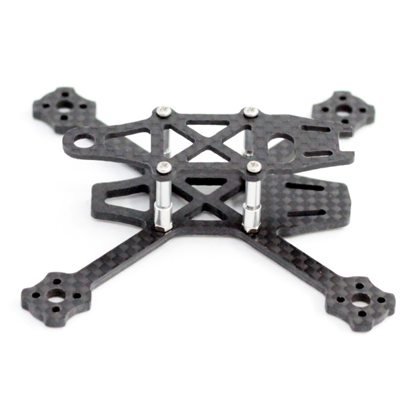 A-max IMP 95X 95mm Wheelbase 2.5mm Arm Carbon Fiber FPV Racing Frame Kit 11g