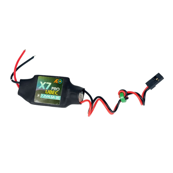 AEO X7 Pro Input 7.2-21V Output 7.2V 4.5A UBEC BEC for RC Models