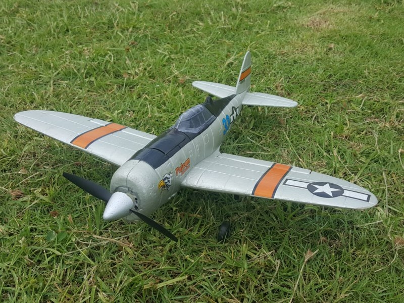 P47 2.4G 4CH 6-Axis Gyro EPO Easy Flying Trainer Warbird RC Airplane RTF