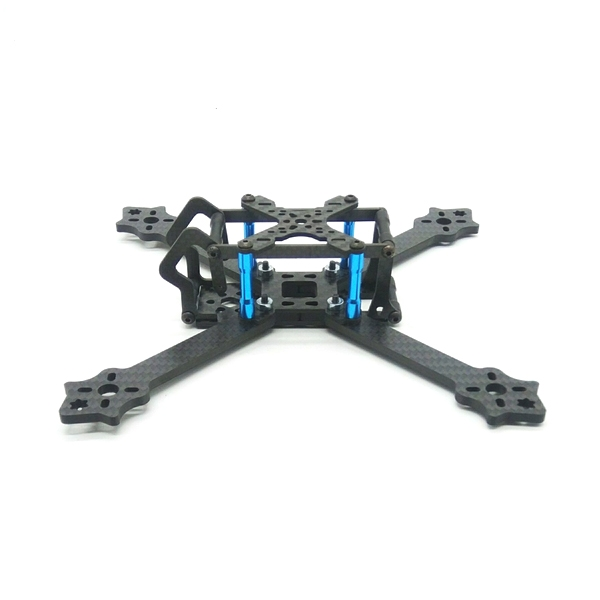 F210TX 210mm Wheelbase 3mm Arm 3K Carbon Fiber Frame Kit for RC Drone FPV Racing 82g