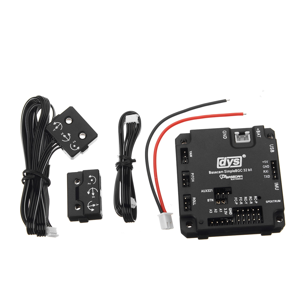 DYS 32Bit BaseCam BGC V3.0 3 Axis Brushless Gimbal Controller With Protection Case For RC Drone