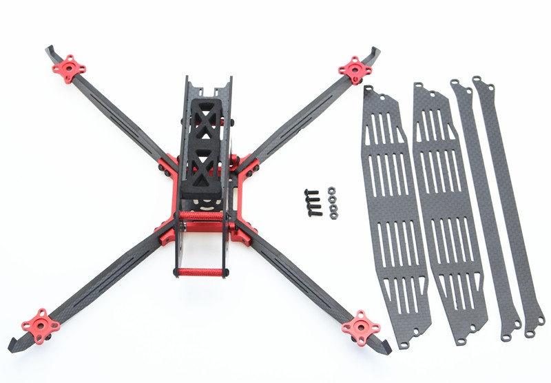 Minibigger Airdancer 290 290mm 4mm Arm 7 Inch Carbon Fiber Freestyle Racing Frame Kit For RC Drone