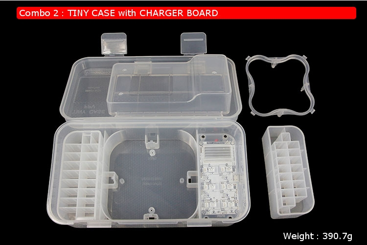 Kingkong/LDARC TINY 6/6X 7/7X RC Drone Quadcopter Carrying Case With Charger