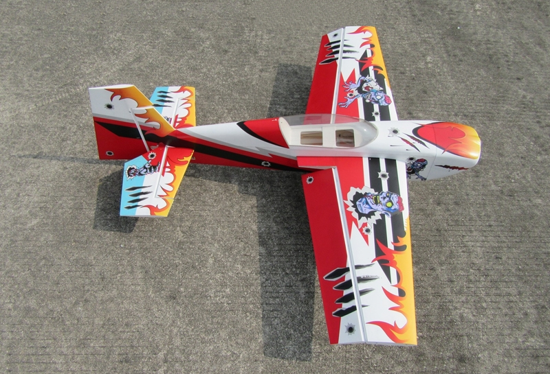 Slick 540 48inch 30E 02B PP 1230mm Wingspan 3D Aerobatic RC Airplane Kit