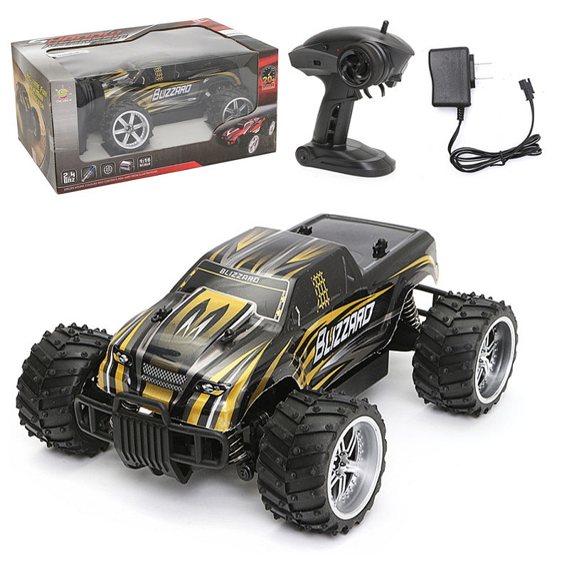 1/16 2.4G 4WD High Speed Radio Fast Remote Control RC RTR Racing Buggy Car Off Road