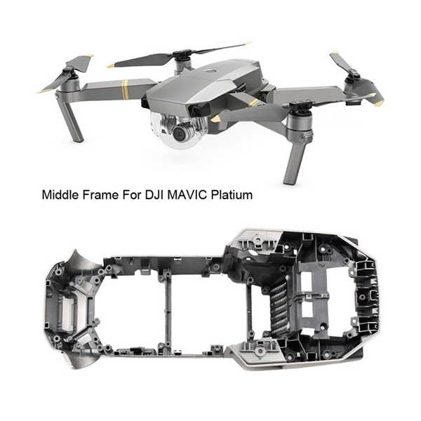 Replacement Parts Frame Body Shell Middle Frame Cover for DJI Mavic Pro Platinum RC Drone