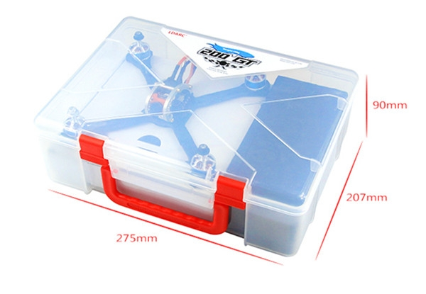 LDARC / Kingkong Suitcase Hangbag Portable Box for FPVEGG Pro/ 200GT/ ET Series RC Drone FPV Racing