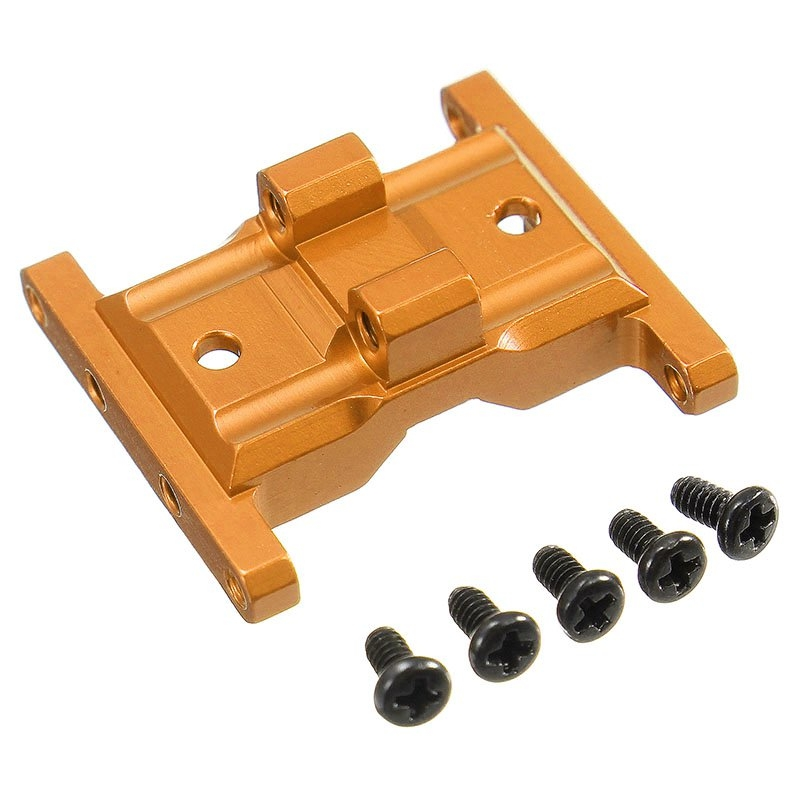 Orlandoo OH35A01 CNC Metal Upgraded Gear Box Base 1/35 RC Car Parts Orange