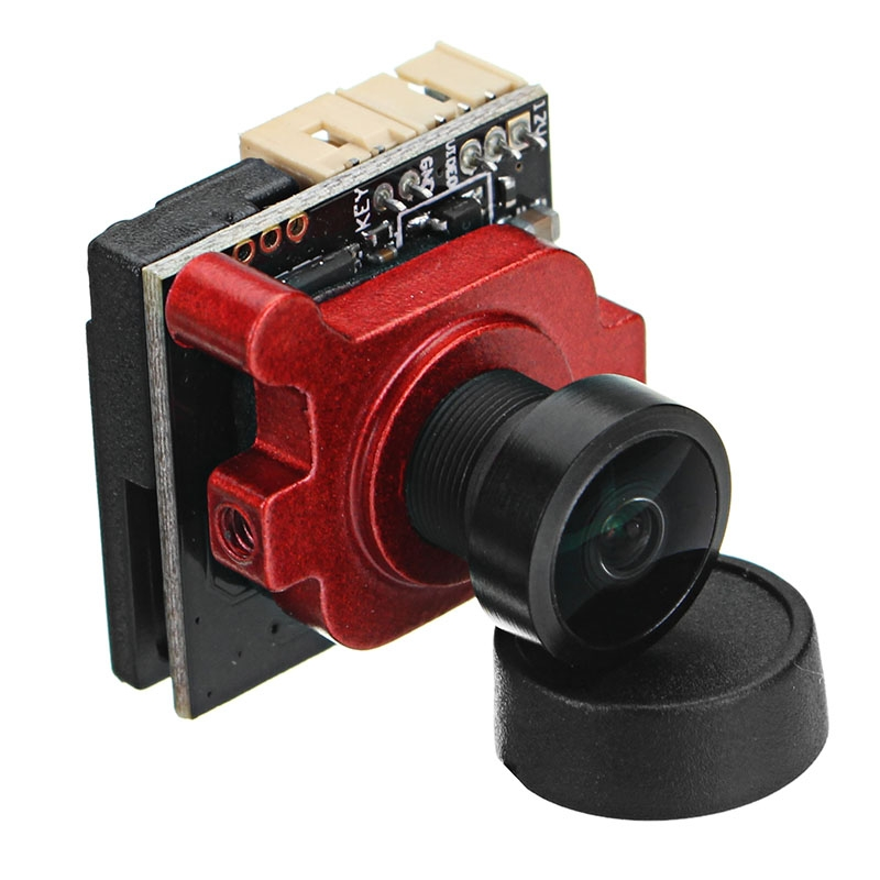 1/3 Super HAD II CCD 2.1mm/2.3mm MINI A19 FPV Camera PAL NTSC OSD Adjustable For RC Drone