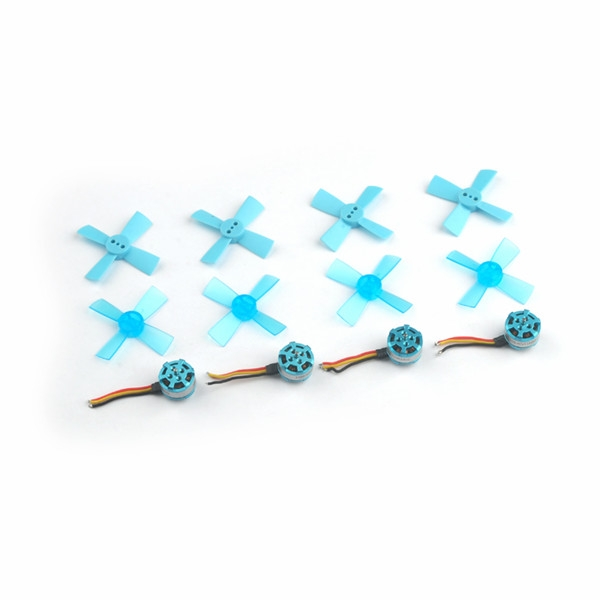 4X 1102 11500KV 1-2S Brushless Motor & 4 Pairs 1535 propeller for Revenger55 RC Drone FPV Racing