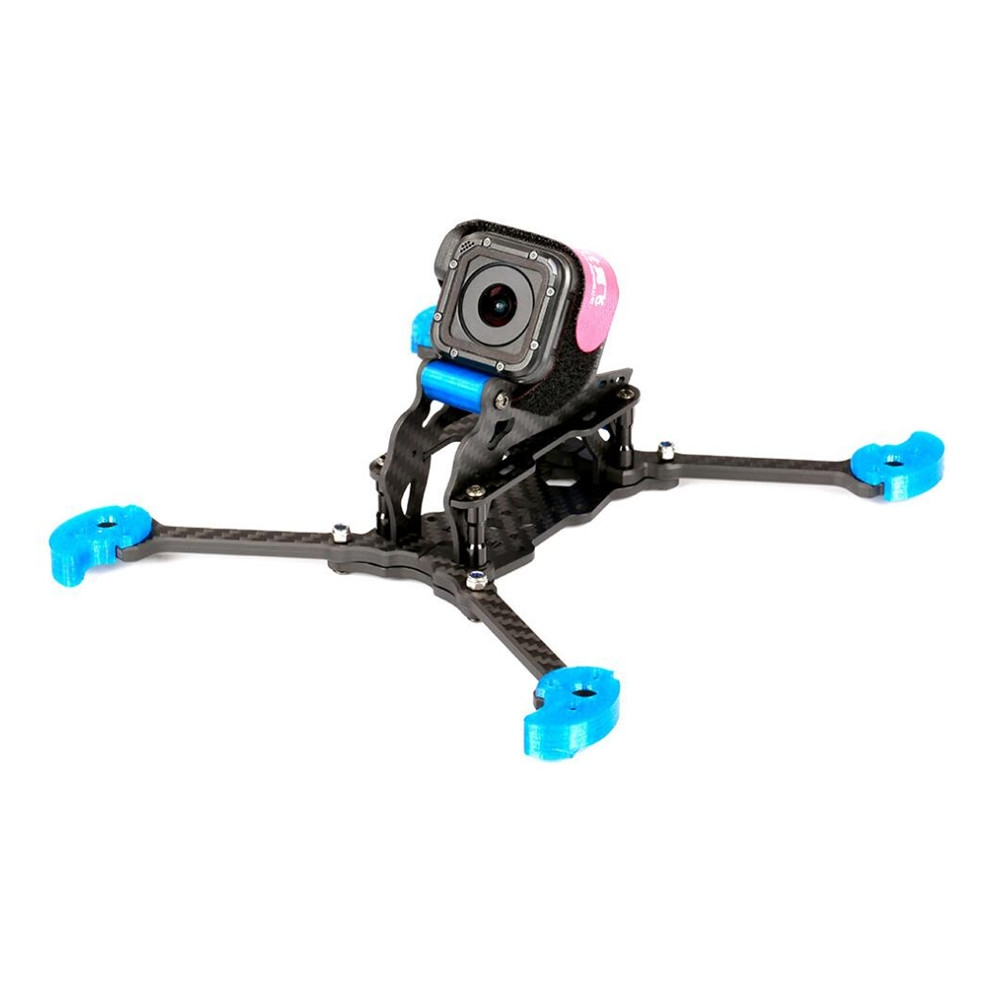 IFlight TAU-5 212mm Wheelbase 5mm Arm 3K Carbon Fiber FPV Racing Frame Kit Blue for RC Drone