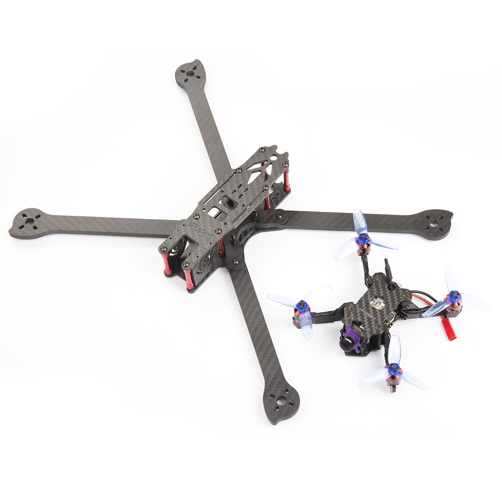 IFlight XL8 8 Inch 360mm Wheelbase 5.5mm Arm 3K Carbon Fiber Freestyle FPV Frame Kit for RC Drone