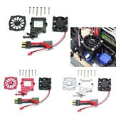1 Set ESC Radiator Cooling Fan Easy Start Transfer Switch For TRAXXAS Trx-4 Trx4 Rc Car Parts