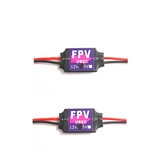 2PCS DC-DC Converter Step Down Module 3A 12V Mini BEC For RC Drone FPV Racing Multi Rotor