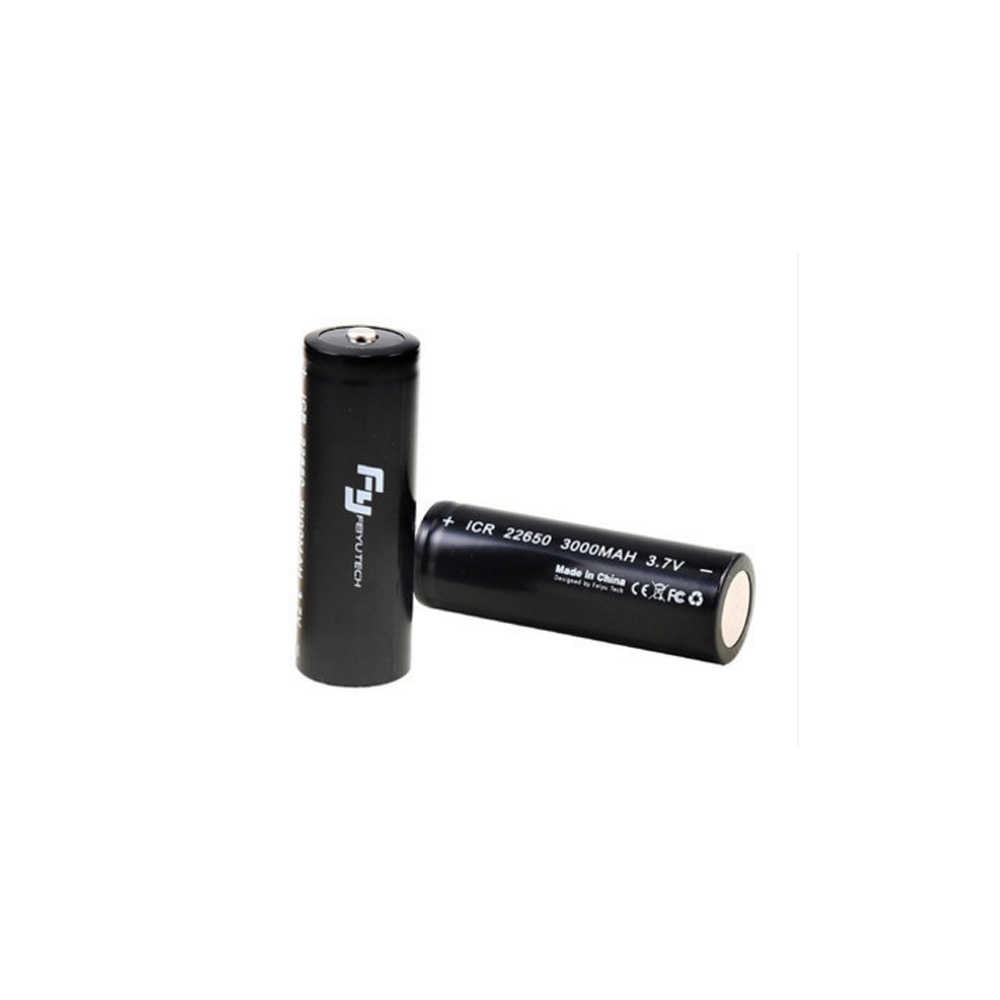 Feiyu Tech 22650 3000mAh 3.7V Rechargeable Battery for Gimbal G5 SPG SPG C