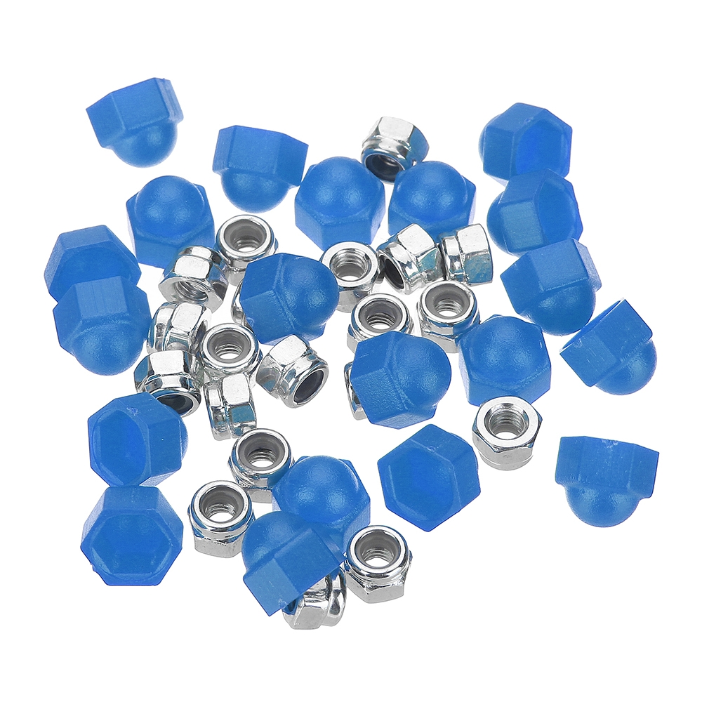 20PCS Realacc M3 Multicolor Screw Nut for RC Drone FPV Racing