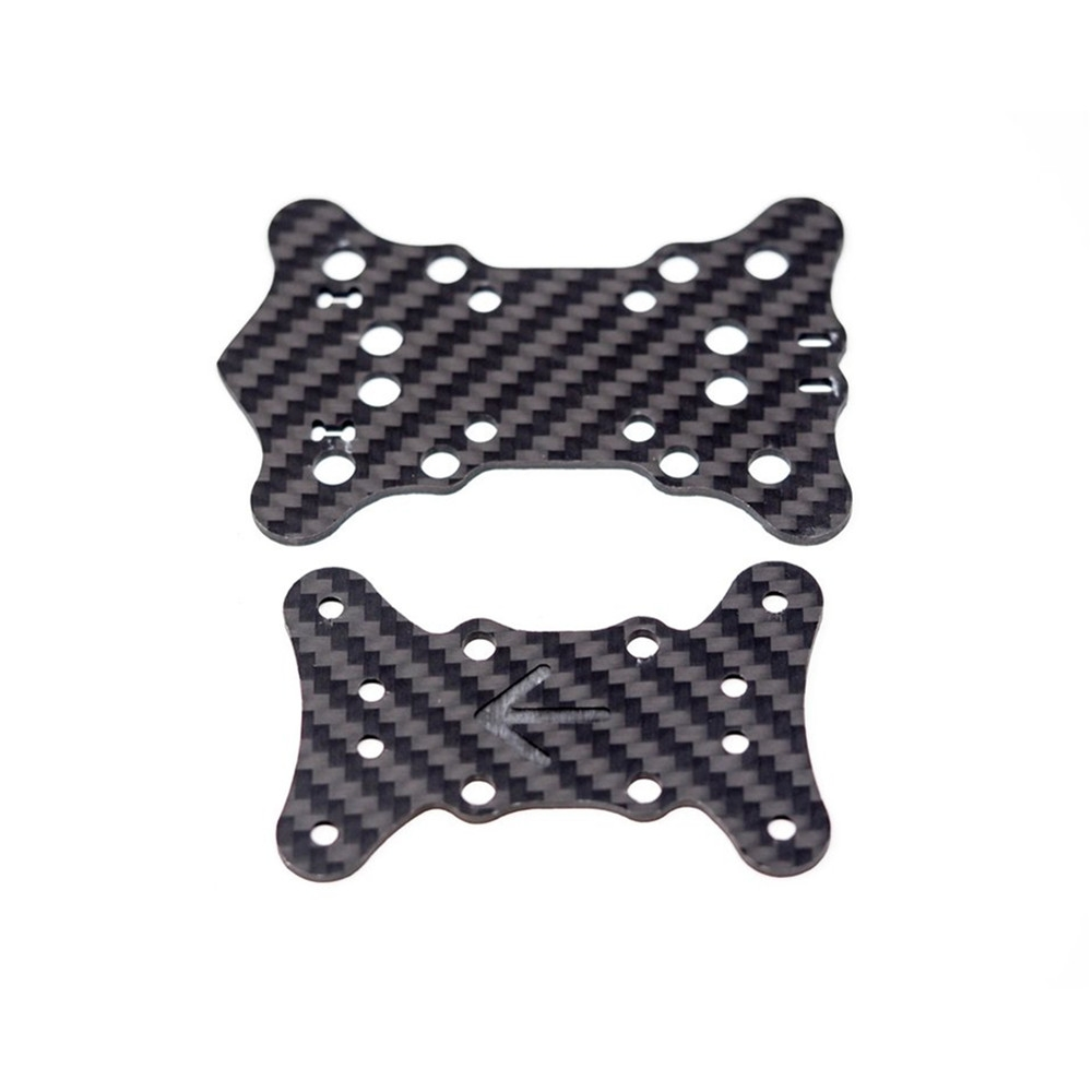 EMAX Hawk 5 FPV RC Drone Spare Parts Mid Plate x1 + Bottom Plate x1