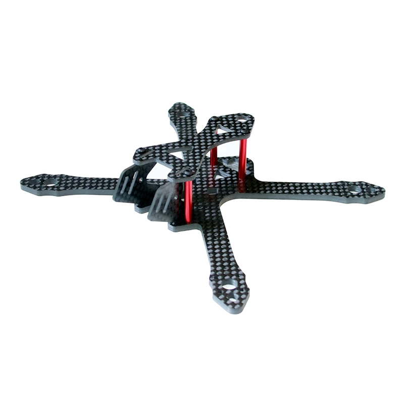 SPC Maker 140X 140mm Wheelbase 3K Carbon Fiber FPV Racing Frame Kit 26g