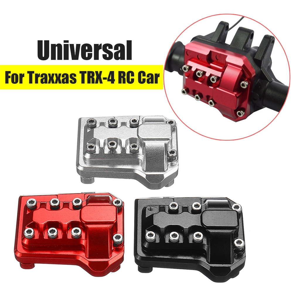 CNC Machined Aluminum Diff Cover For Traxxas TRX-4 Crawler Racing Rc Car Parts Universal