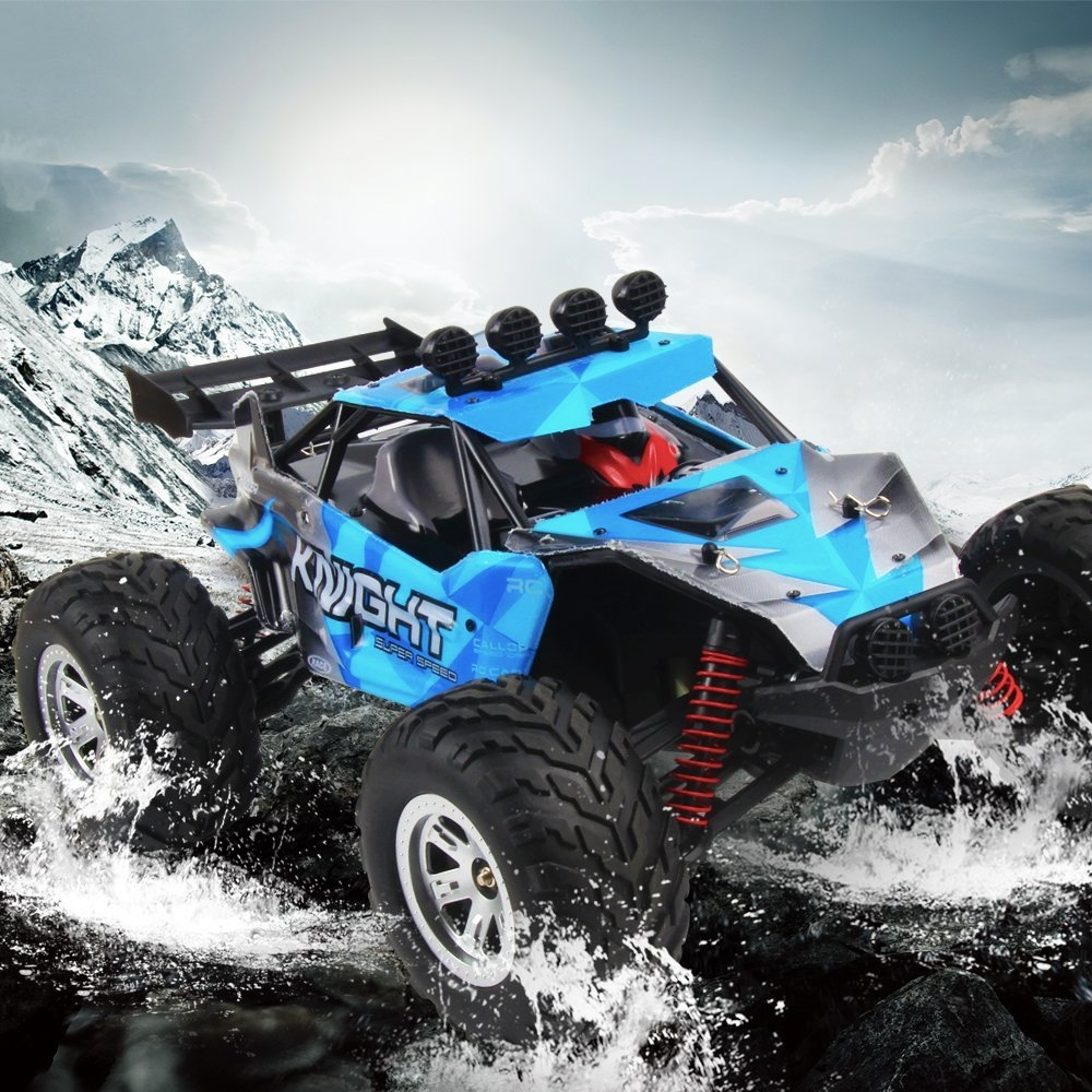 FY11 1/12 2.4G 2CH Amphibious Long Distance Control Crawler RC Car