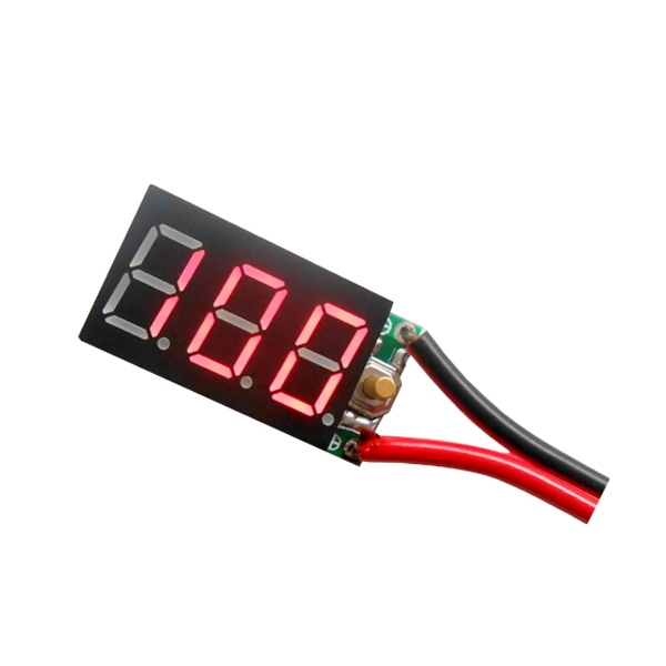 2PCS 6S 7S Pb Lipo Battery Tester Instruments And Ni-MH Battery Digital Display