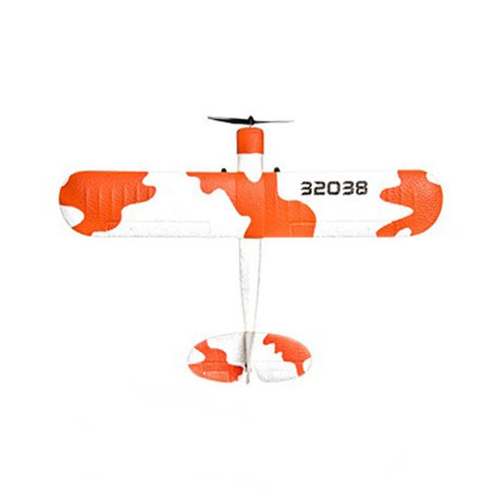 Techboy Mini Fox 2.4G 2CH 345mm Wingspan EPP 360 Degree Rotation RC Airplane Glider RTF