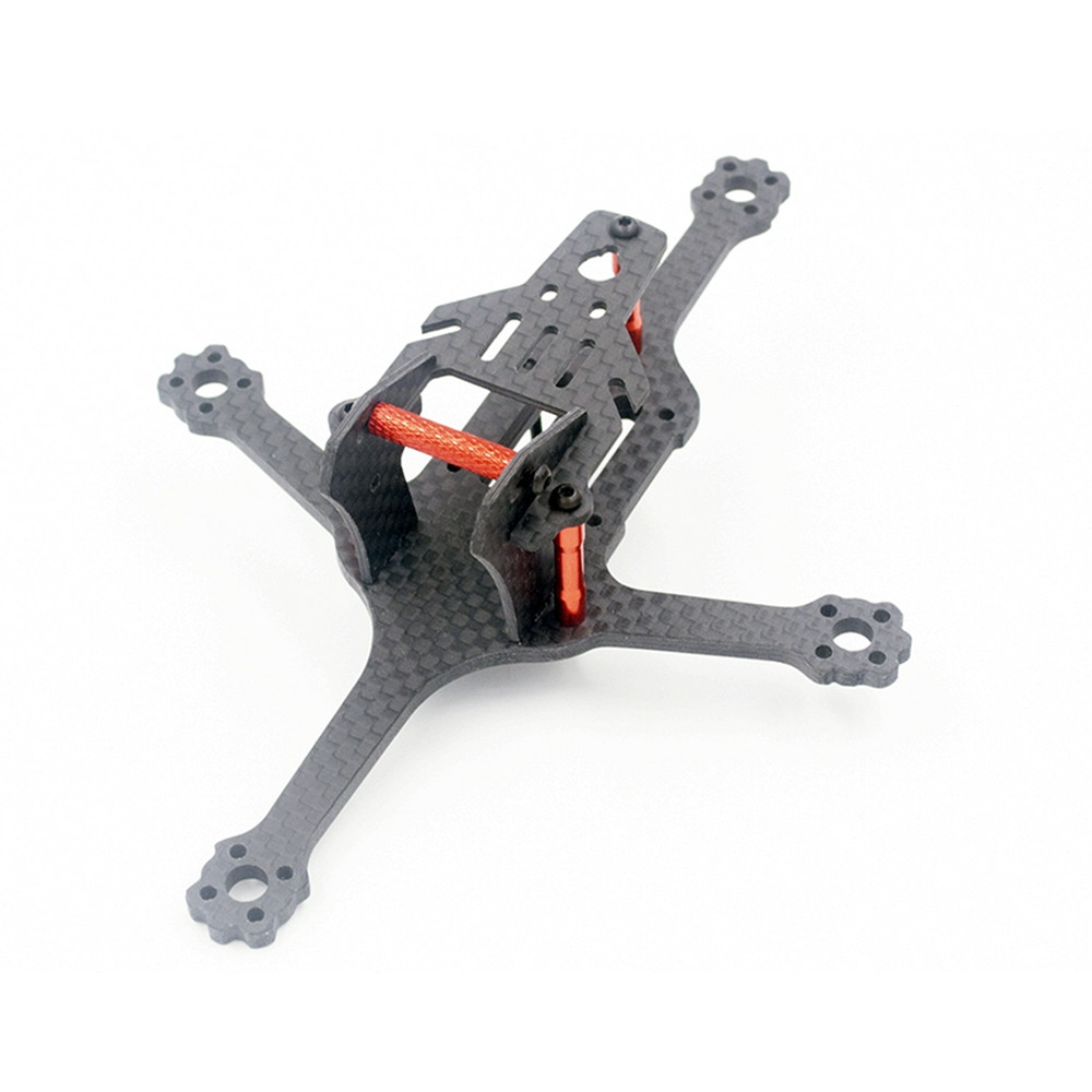 ALFA Falcon 128 2.5 Inch 128mm/92mm Wheelbase 3mm Arm 3K Carbon Fiber Frame Kit for RC Racing Drone