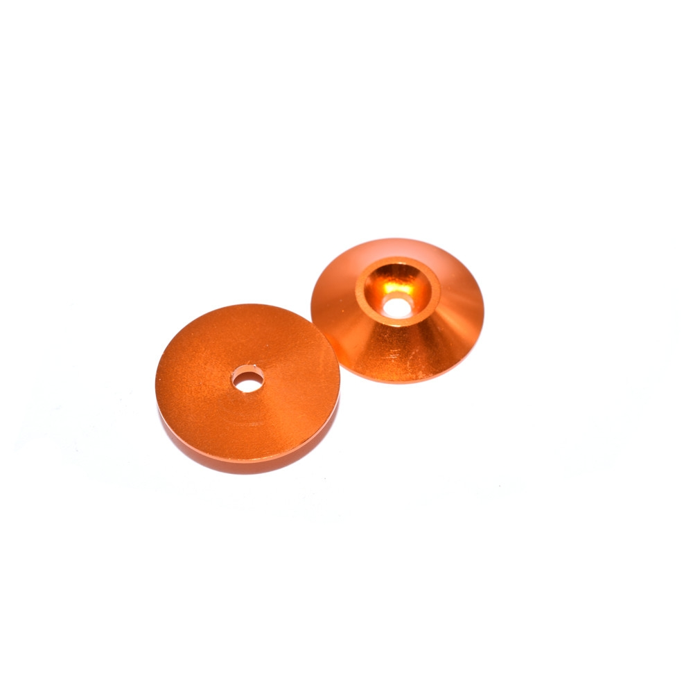 10 PCS AuroraRC M3 Countersunk Screw Conical Grommet Gasket Washer for RC FPV Racing Drone - Photo: 1