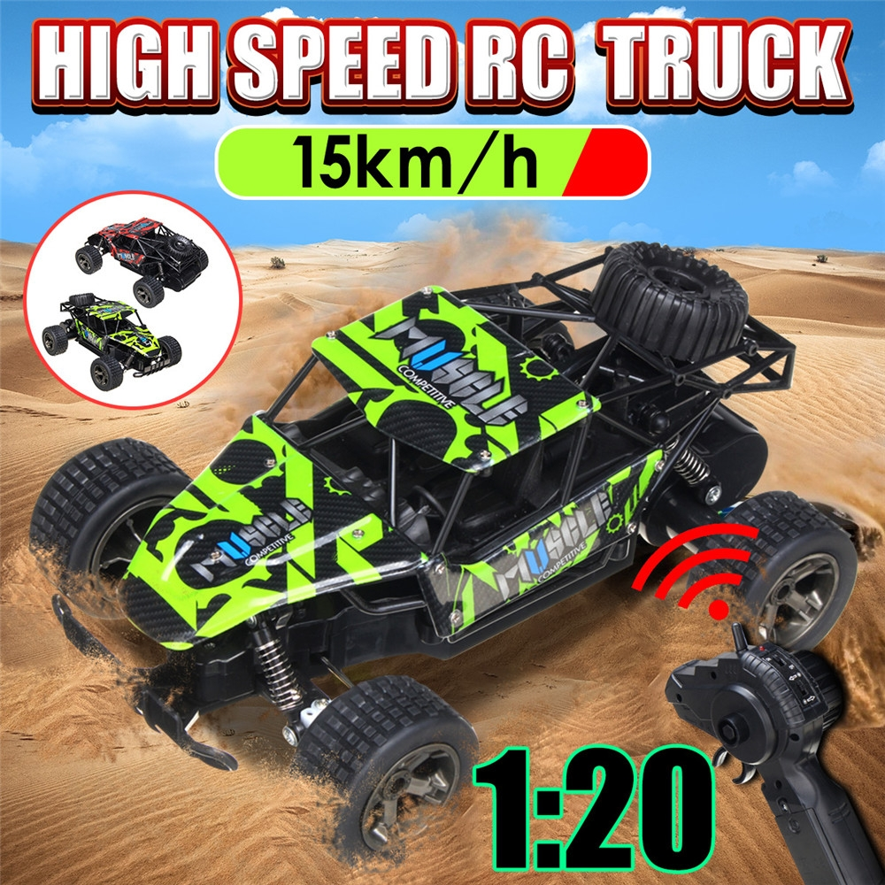 Chengke Toys 2815B 1/20 2.4G 21*15*9cm Rc Car High Speed 15km/h Off-road Truck RTR