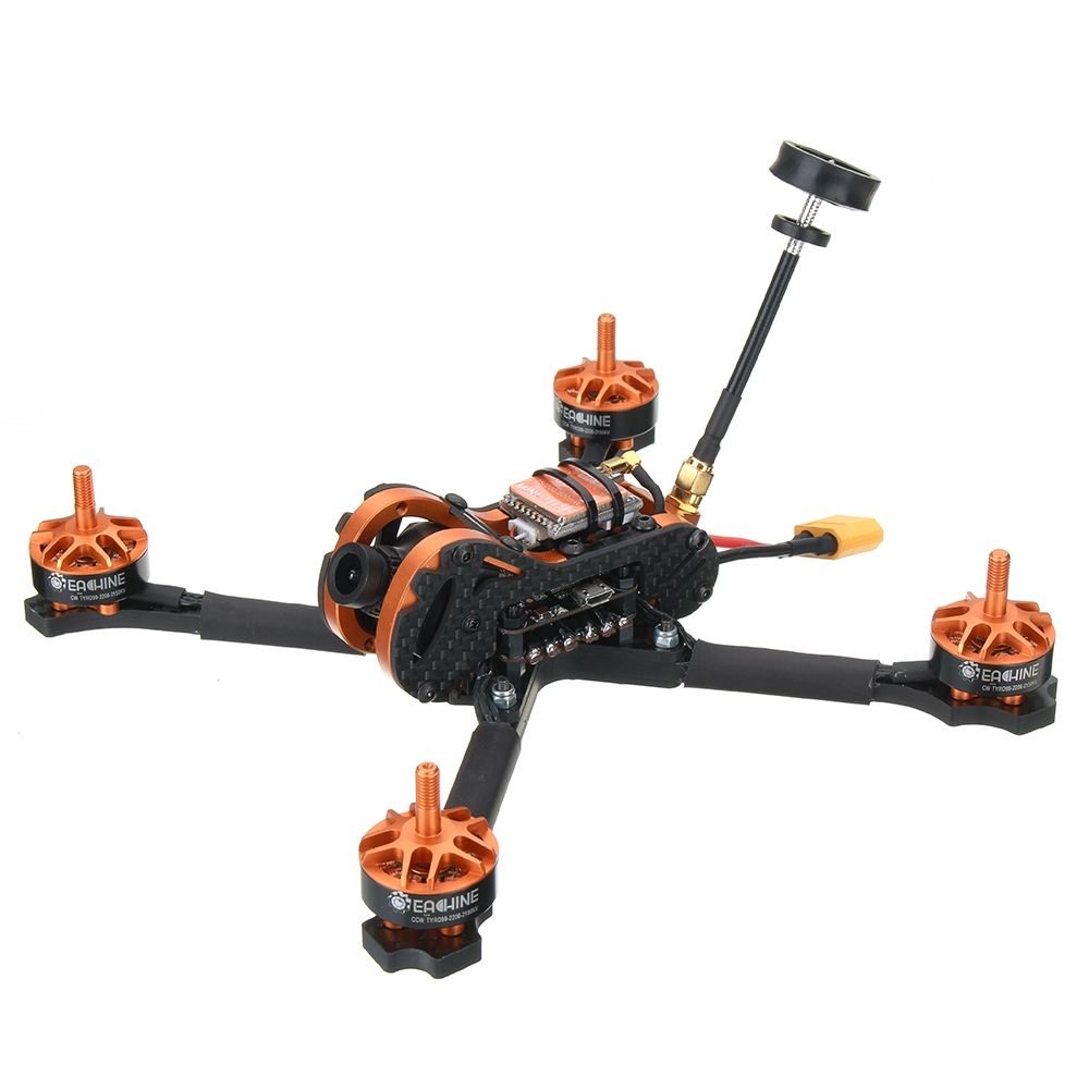 Eachine Tyro99 210mm DIY Version FPV Racing RC Drone F4 OSD 30A BLHeli_S 40CH 600mW VTX 700TVL Cam