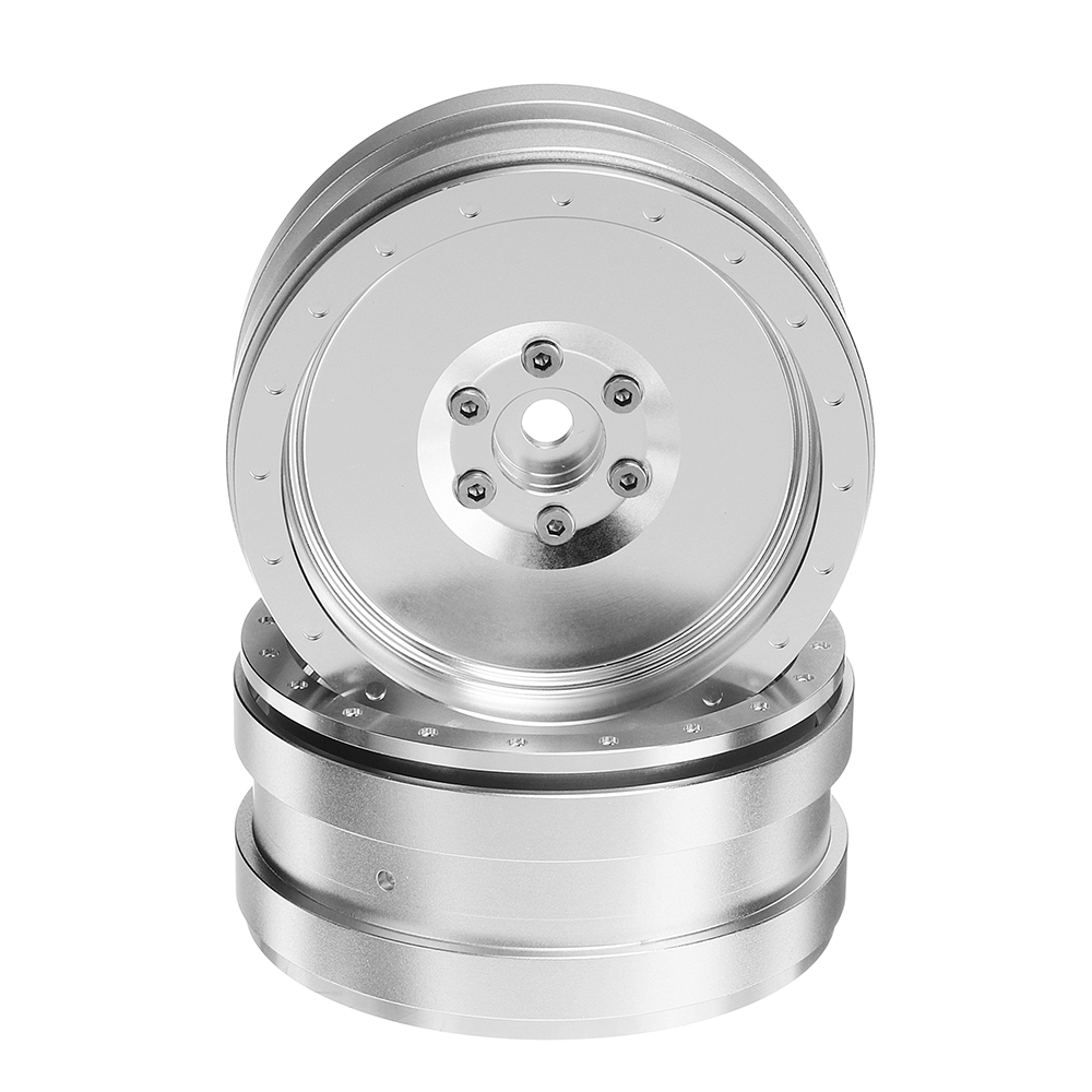 Metal 2PCS RC Car Wheel Hub 2.2Inch For 1/10 1/8 RC Rock Crawler RC Car