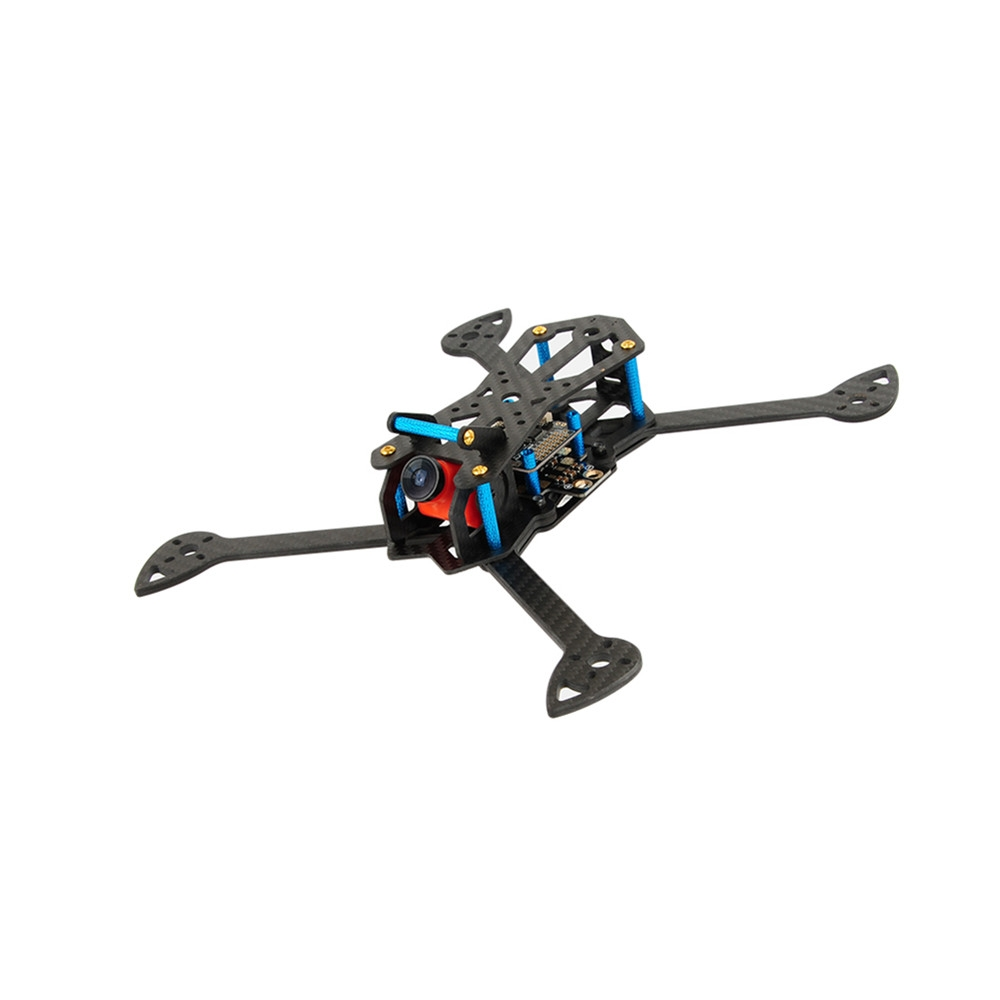 TINSLY-H60 265mm Wheelbase 6 Inch Carbon Fiber Frame Kit 4mm Arm for RC Drone FPV Racing