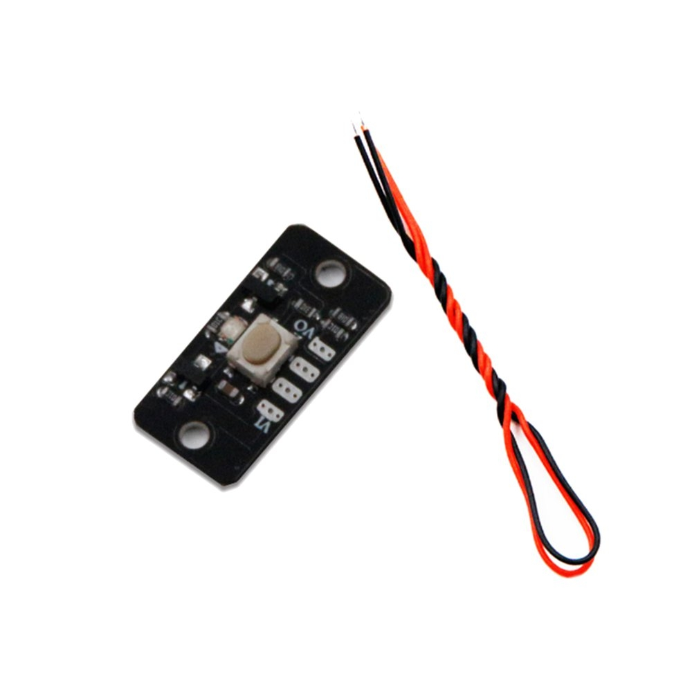 LANTIANRC 3-16V 2A Wide Voltage One-button Electronic Switch Module For RC Model