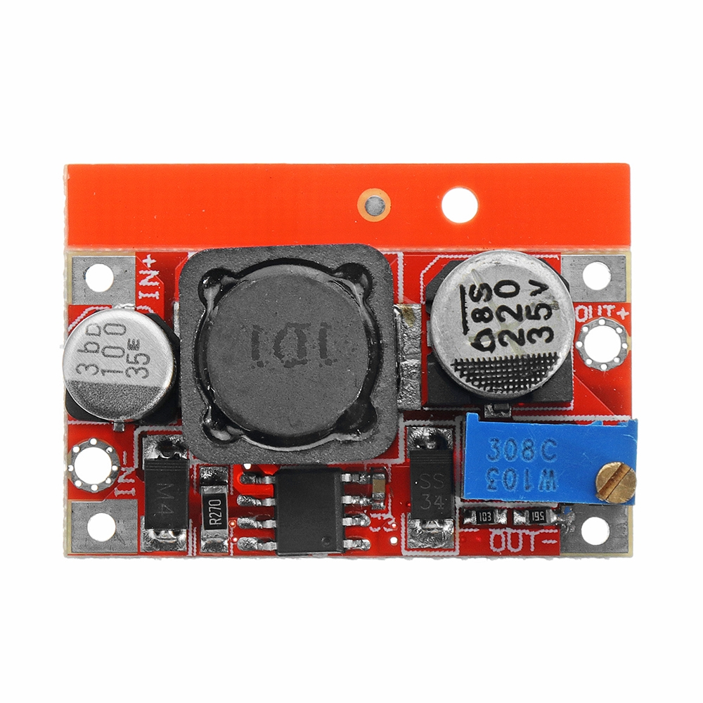5v 6w Dc Step Down Module Adjustable Power Supply With Short Circuit Protection Output