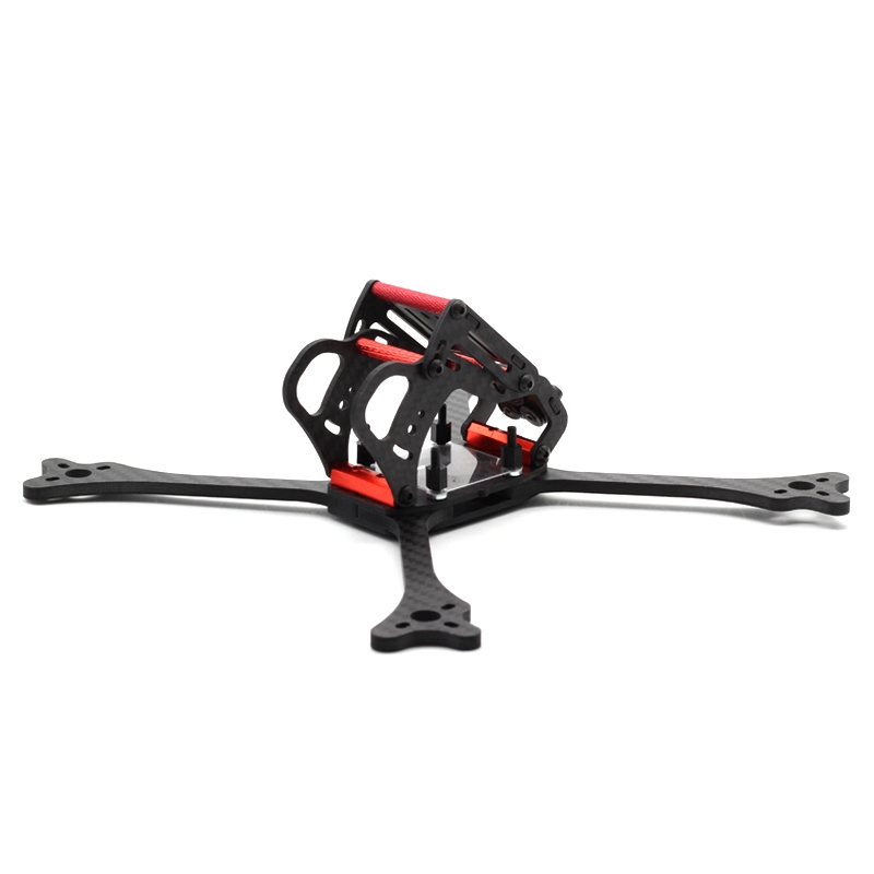 HSKRC 215mm Normal X FPV Racing Frame Kit 4mm Arm Carbon Fiber For RC Drone - Photo: 1