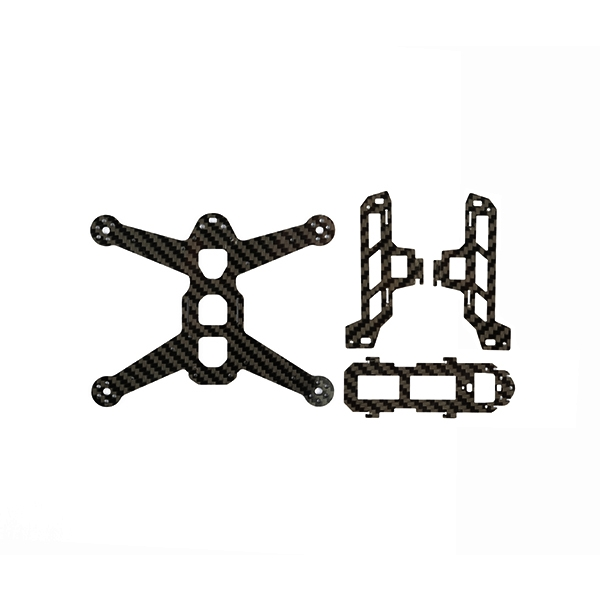 Hubsan H123D X4 JET RC Quadcopter Spare Parts Fiber Frame Body Carbon Fiber Board H123D-08