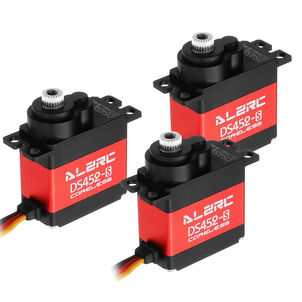 3PCS ALZRC DS452S Swashplate Coreless Mini Digital Metal Servo For 450 RC Helicopter