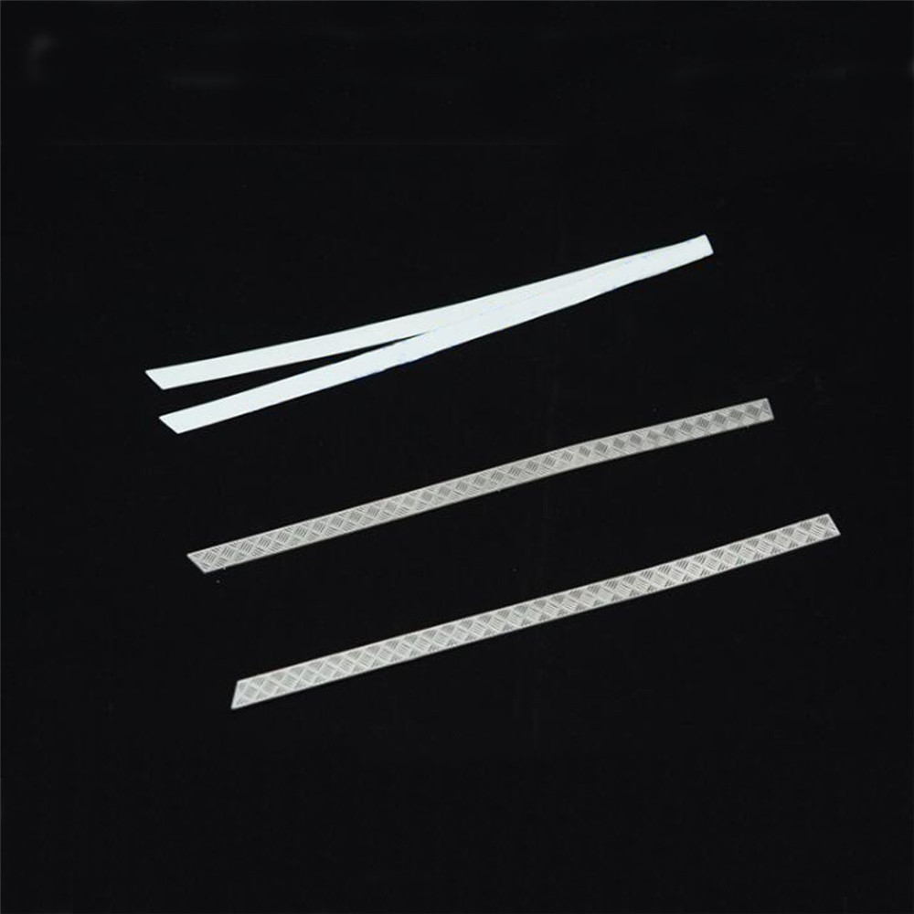 4PCS Yeah Racing Stainless Steel Diamond Side Plate Traxxas TRX-4 RC Car Parts #TRX4-026