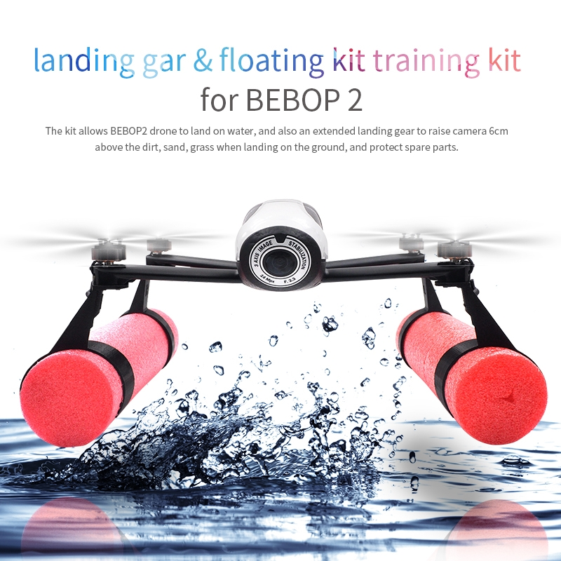Landing Gear Buoyancy Rods Set Water Surface Land & Take Off Device For Parrot BEBOP 2 RC Drone
