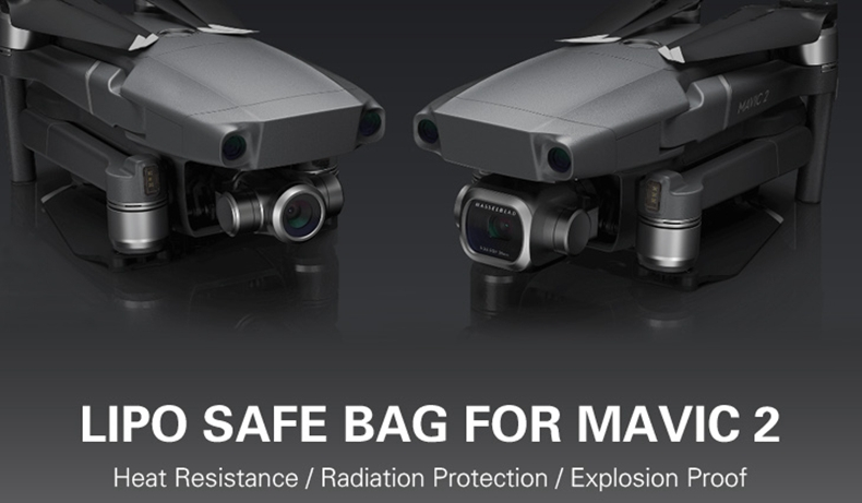 Sunnylife Explosion-proof Battery Safety Bag for DJI Mavic 2/Zoom Battery