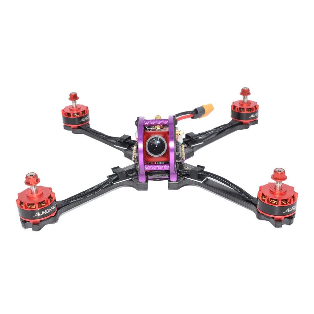 GHINI250 250mm F7 OSD DIY FPV Racing Drone 25/800mW Audio Microphone VTX 960H CCD Camera