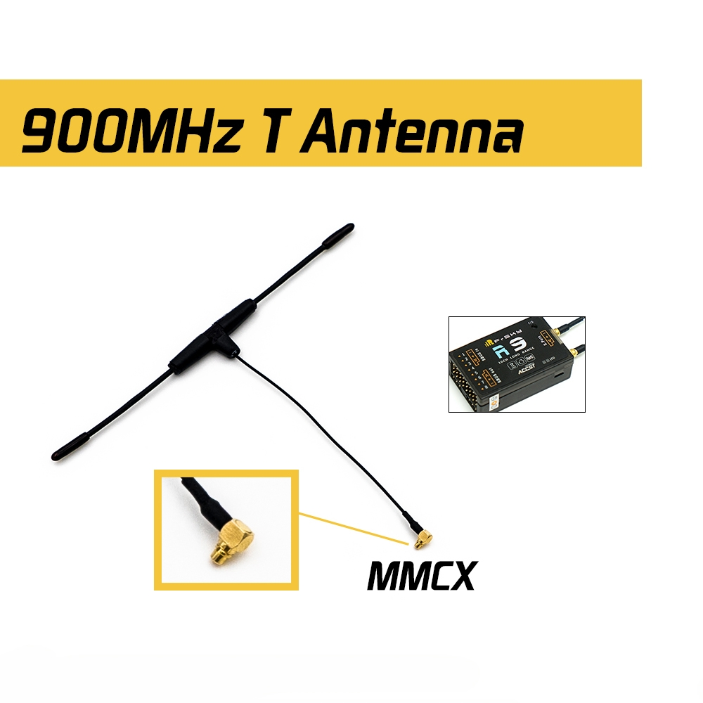 Original FrSky 900MHz Dipole T MMCX Antenna for R9 Receiver