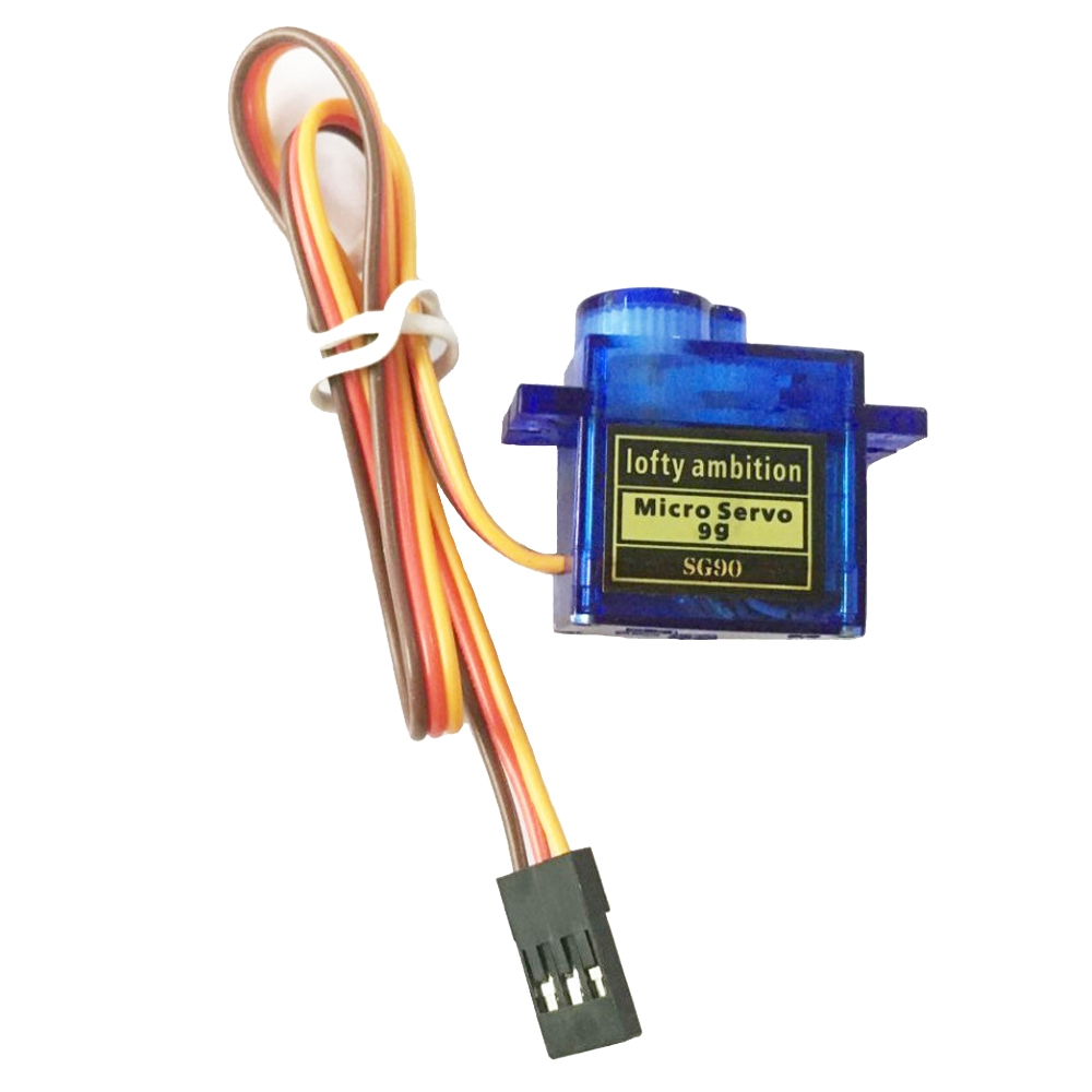2PCS Lofty Ambition SG90 9g Mini Micro Servo for RC 250 450 Helicopter Airplane - Photo: 1